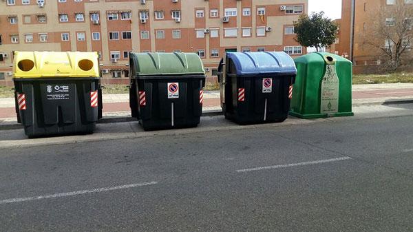 En Getafe llevamos décadas reciclando